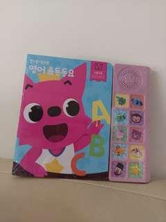 最新現貨 韓國直送 Pinkfong硬皮音樂書