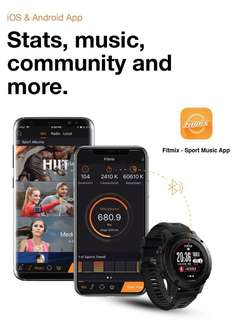 Premium multi sport GPS smart watch pre order