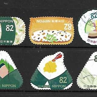 C2338 日本郵票 2017年 和食文化 第3集 10全銷