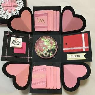 Love/Valentine Explosion Box