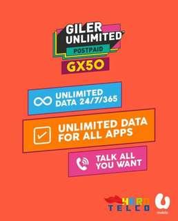 Internet/Call Unlimited hanya RM50?! Tunggu Ape Lagi? PM!!