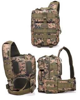 🚚 Tactical Sling Bag Pack Military Rover Shoulder Sling Backpack