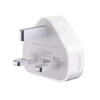 NEW Original Apple power plug/adapter 5W USB Apple charger UK [iPhone X Packaging]