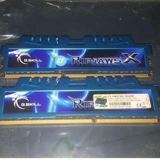 🚚 Gskill Ripjaws DDR3 RAM 16GB 1866Mhz (8GB x2)