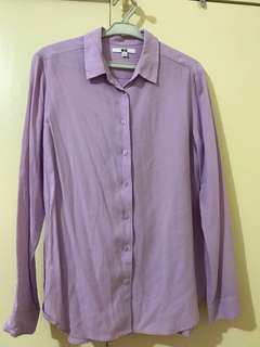 Uniqlo Women's Rayon Blouse L *used 2x*