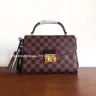 Boutique Quality LV Croisette- Damier Ebene