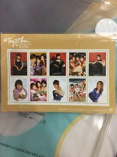 S.H.E together album limited edition stamp