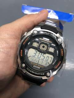 Casio AW 2000WD-1AVDF Digital Sport Watch