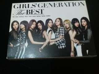 Girl's Generation the best CD+DVD (9成新)