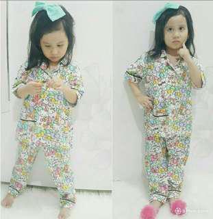 Piyama hk ribbon kid