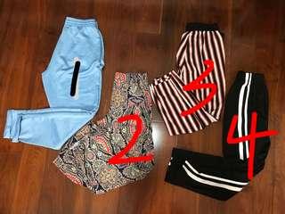 Zara Ladies summer long pants