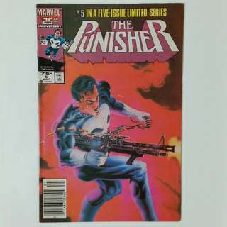 Punisher No.5 comic