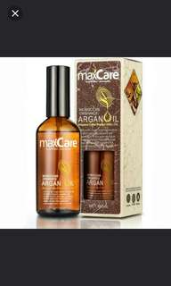 MaxCare Argan Oil Morocco (100ml) - ( In-stocked ).  Expiry date: July 2019