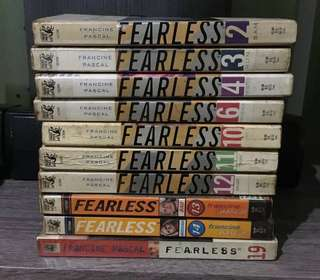 Lot of 10 Fearless Books by Francine Pascal