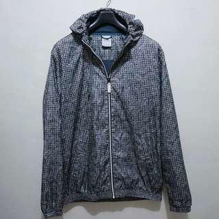 Rare Authentic Adidas Plaid Paisley Windbreaker Jacket