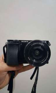 Sony A6000 with 16-50mm Sony Lens