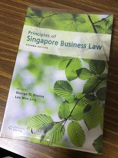 Principles of Singapore Business Law (Second Edition)