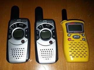 409 頻段對講機三部