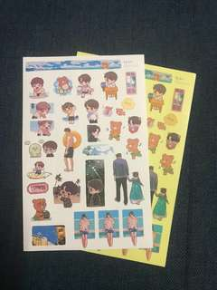 exo kai sticker