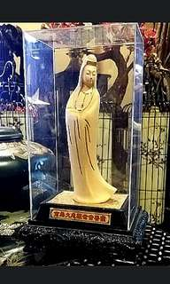 24k Gold Plated KWAN YIN  99.9  Luxury Item