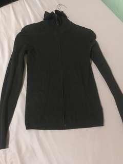 zara dark brown sweater