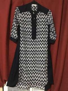 cole vintage tunic dress