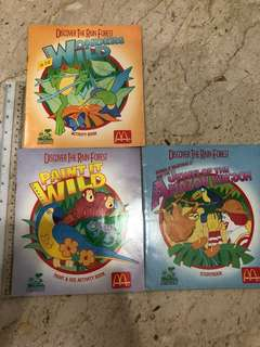 Macdonalds vintage activity books