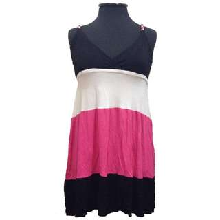 New:FAB pink and black dress