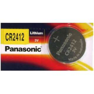 Panasonic CR2412 Lithium Batteries