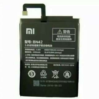 Baterai Battery Xiaomi Redmi 4 / BN42 ORIGINAL