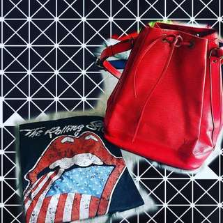 Vintage Lv 樹紋 水桶 bag (大)