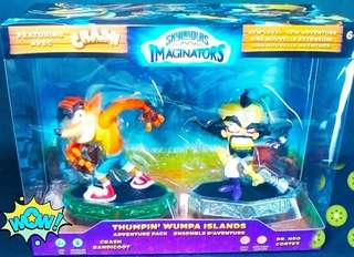 Skylanders imaginator figures (2 pcs)