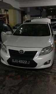 Toyota Corolla Altis 1.6 Auto LX
