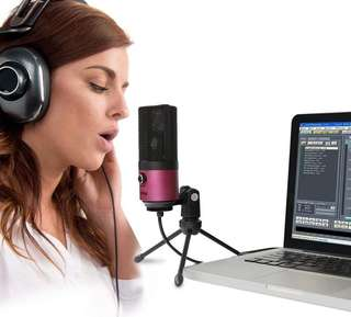 Oos (455) Fifine Usb Podcast Condenser Microphone Recording On Laptop, No Need Sound Card Interface and Phantom Power (K669)