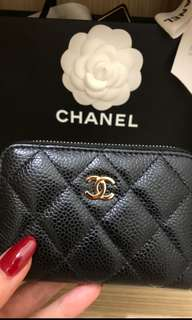 Chanel wallet real 有單包驗有盒