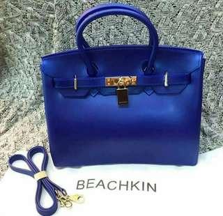 Beachkin Blue Matte Bag