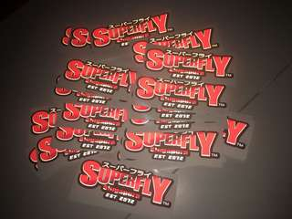 Singapura Superfly latest edition stickers