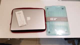 🚚 2012 客製I7頂規 Macbook Air 13吋 I7/8G/512G 功能正常 機子9成新附筆電套保護殼轉接頭