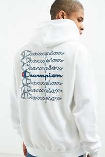 LIMITED EDITION Champion Stacked Eco Hoodie Sweatshirt
