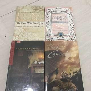 novel 4 buah