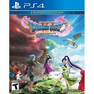 PS4 DRAGON QUEST XI: ECHOES OF A ELUSIVE AGE PREORDER