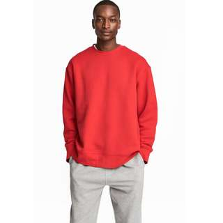 H&M SWEATSHIRT LOOSE FIT MEN