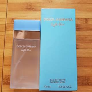 New ori SG parfum Dolce & Gabbana light blue women 100ml