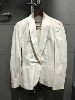Topshop Off White Blazer