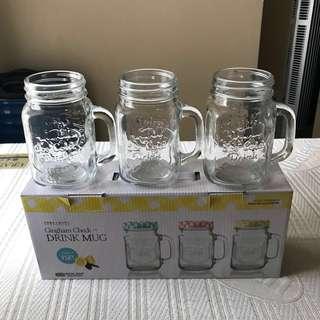Brand new mason jars