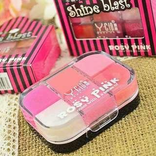 Rosy Lip 6 Colors