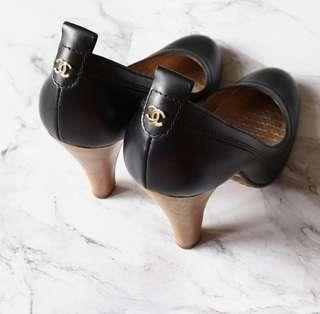 Chanel vintage high heels 香奈兒復古高跟鞋 中古美品