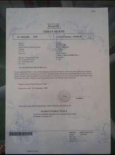 Tanah untuk dijual MURAH & Urgent