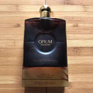 New ori SG parfum Ysl brown opium 100ml