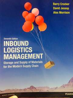 Inbound Logistics Management - Storage and Supply of Materials for the Modern Supply Chain